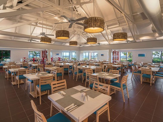 Le restaurant Grace Bay du Club Med Turquoise