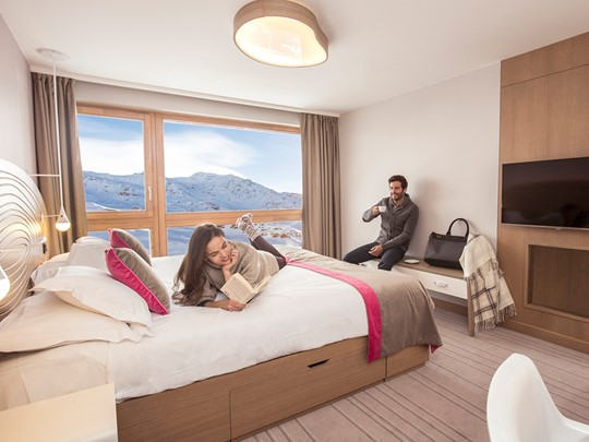 Chambre Club du Club Med Val Thorens en France