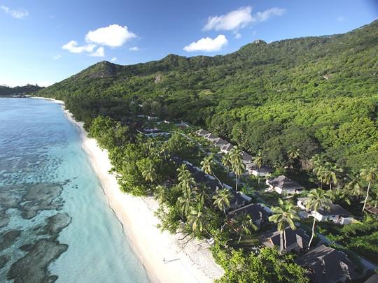 Le magnifique cadre naturel du Hilton Seychelles Labriz Resort & Spa, sur l'île Silhouette
