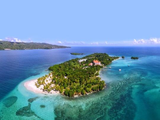 Le Cayo Levantado, une petite île de rêve