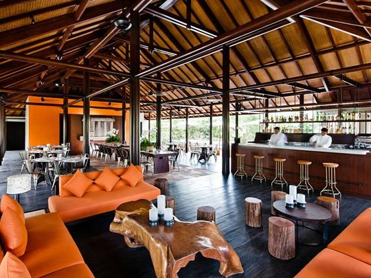 Autre vue du Cucina Restaurant de l'Uma by Como