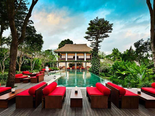 La piscine de l'hôtel Uma by Como à Ubud