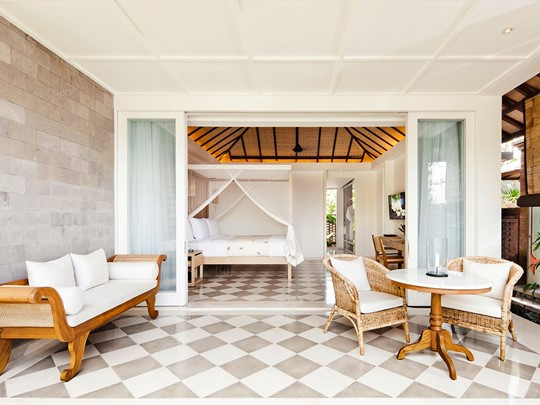 Pool Suite de l'hôtel Uma by Como à Bali