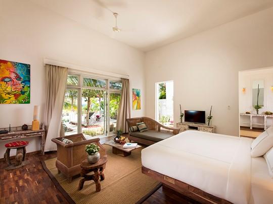 Beach Villa de l'hôtel Constance Aiyana Pemba