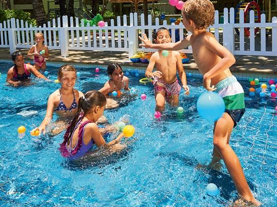 La piscine pour enfants