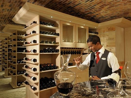 Une large sélection de vins vous attend