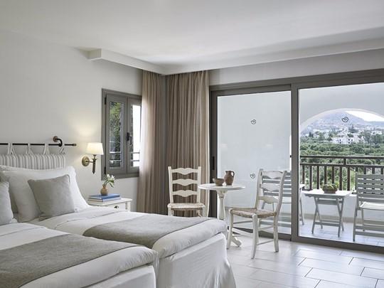 Deluxe Room Mountain View de l'hôtel Creta Maris