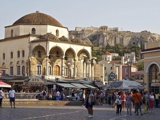 Visitez le village de Monastiraki