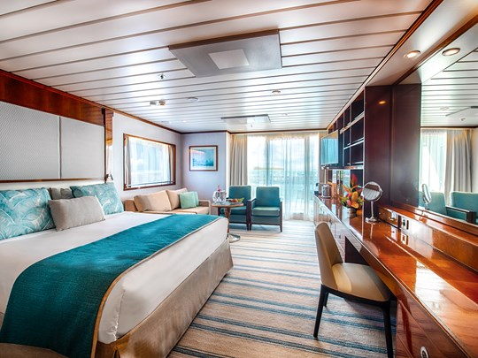 Séjour relaxant dans des cabines de luxe