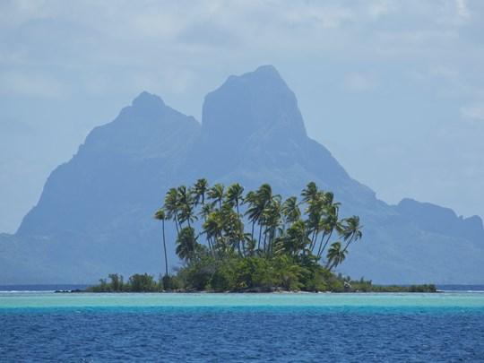 Petite île à Tahaa