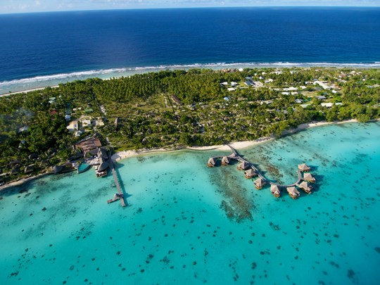 L'atoll de Rangiroa