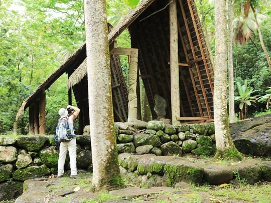 Admirez les vestiges archéologiques de Nuku Hiva