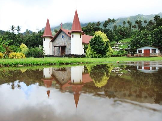 Le village de Nuku Hiva