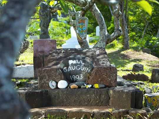 Tombe de Paul Gauguin