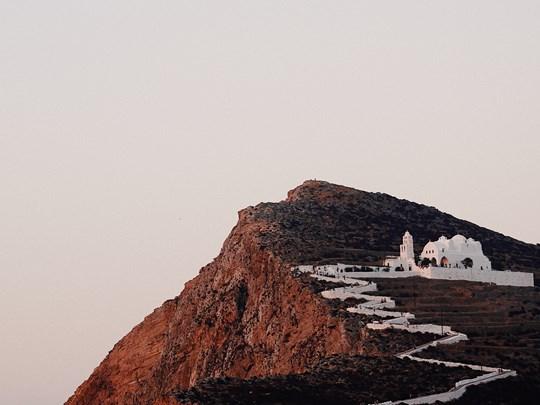 Les paysages magiques de Folegandros