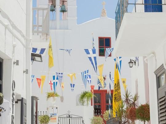 Balade dans les rues de Mykonos