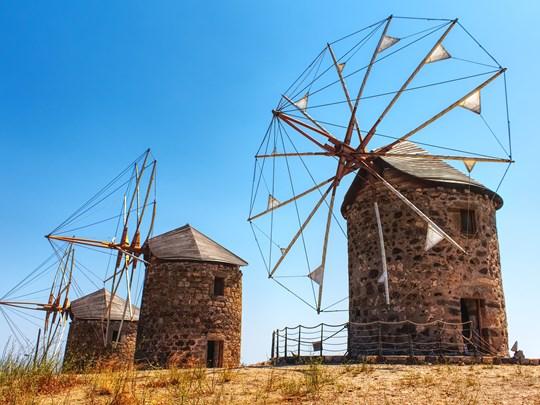 Les moulins à vent traditionnels