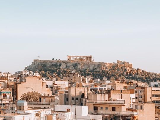 Vue sur Athènes