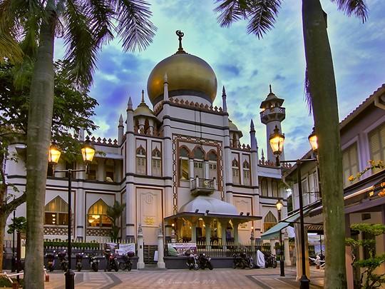Kampong Glam situé à Singapour