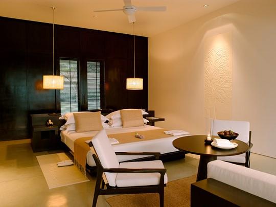 Suite de l'hôtel Amansara