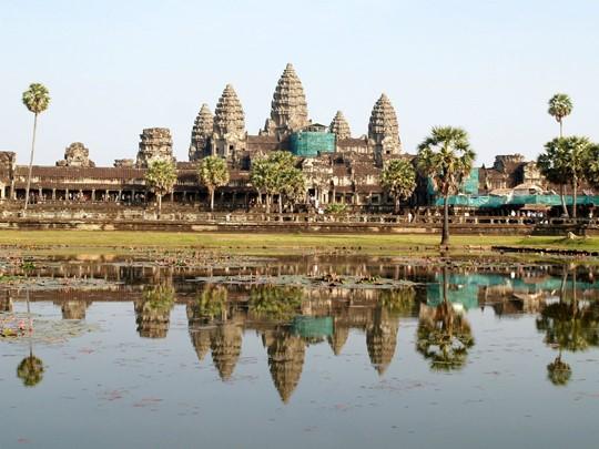 Le site archéologique d'Angkor