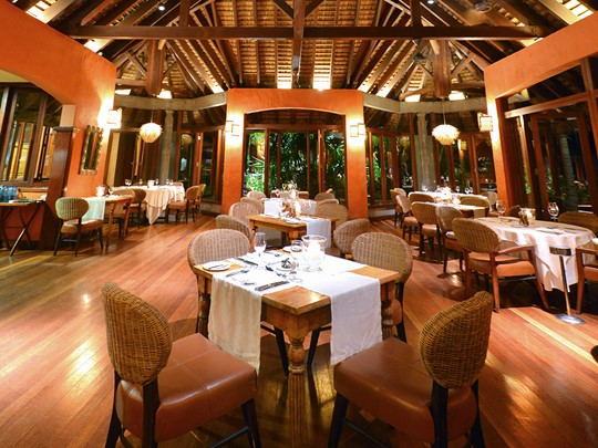 Le restaurant Harmonie