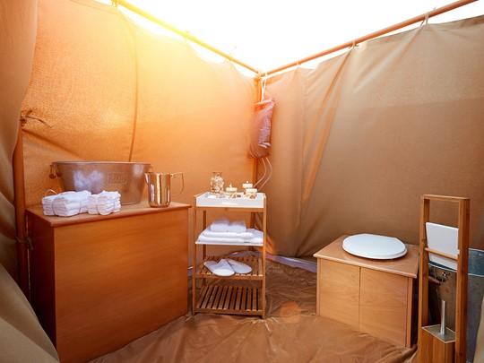 Des tentes de luxe décorées dans l'esprit des Mille et Une Nuits