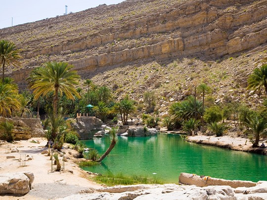 Wadi Bani Khalid, joyaux de la nature omanaise