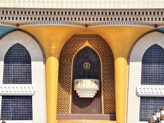 Le palais al Alam, la résidence du sultan