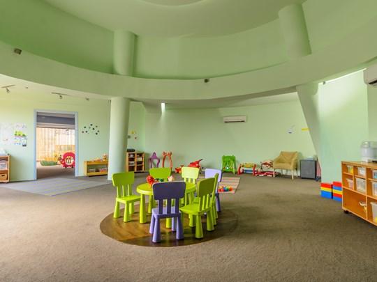 Une aire de jeux pour les enfants !