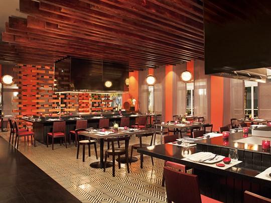 Spécialités asiatiques au restaurant Himitsu