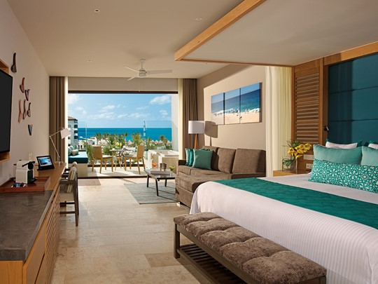 Junior Suite Partial Ocean View du Dreams Playa Mujeres