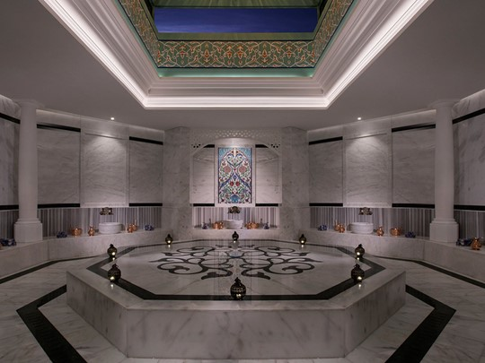 Hammam de l'Anantara Dubai The Palm
