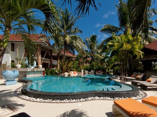 La piscine du Duc de Praslin, un boutique hôtel de charme