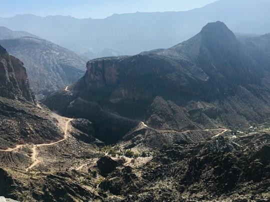 Les montagnes du sultanat