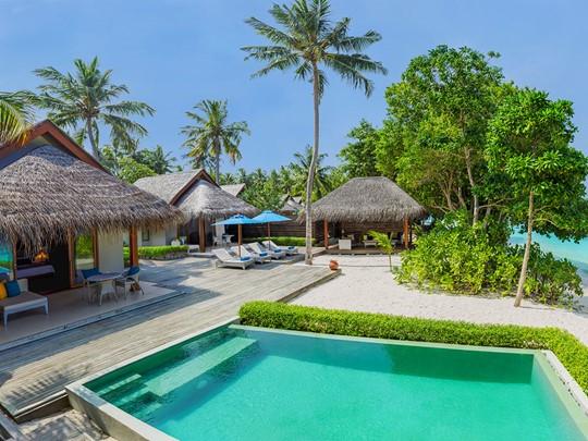 2 Bedroom Family Beach Villa Pool