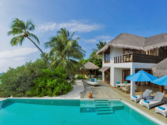 3 BR Beach Residence with Pool