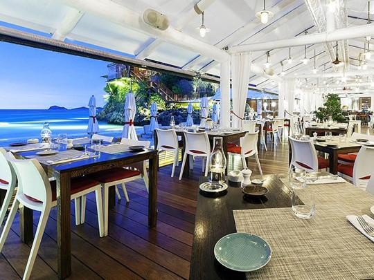 Sand Bar de l'hôtel Eden Rock situé aux Antilles