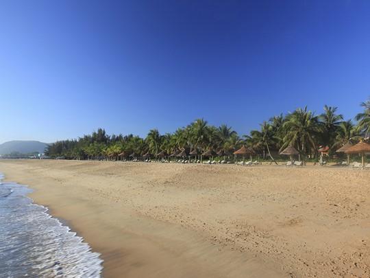 La plage de l'Evason, l'une des plus belles du sud du Vietnam