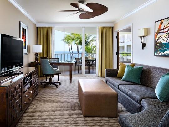 Ocean View Suite du Fairmont Kea Lani à Hawaii