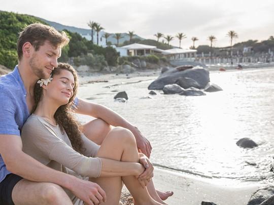 Détente en toute intimité sur la plage