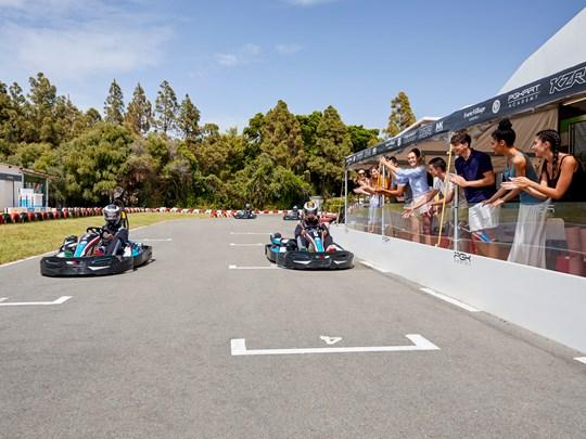 Profitez d'une séance de karting