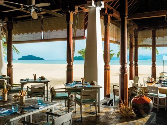 Restaurant de l'hôtel Four Seasons Langkrawi en Malaisie