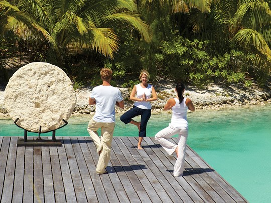 Remise en forme au Four Seasons Resort Bora Bora