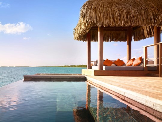 Over Water Bungalow Suite with Plunge Pool