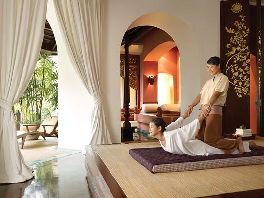 Le spa de l'hôtel 5 étoiles Four Seasons à Chiang Mai