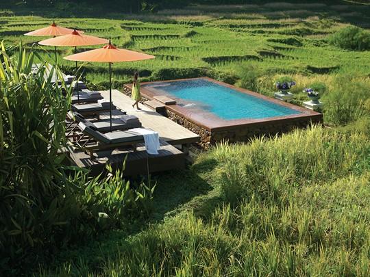 Autre piscine de l'hôtel Four Seasons Resort Chiang Mai en Thailande