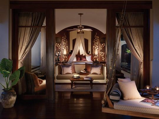 Pool Villa de l'hôtel de luxe Four Seasons à Chiang Mai