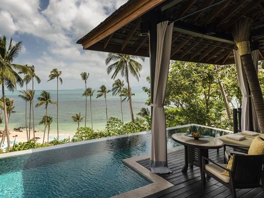 Beach Pool Villa de l'hôtel Four Seasons Koh Samui