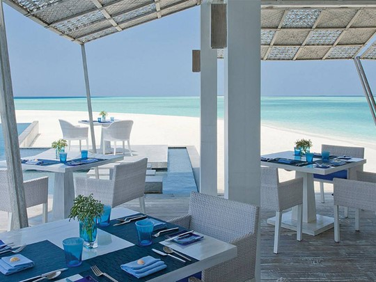 Restaurant Blu de l'hôtel Four Seasons Maldives